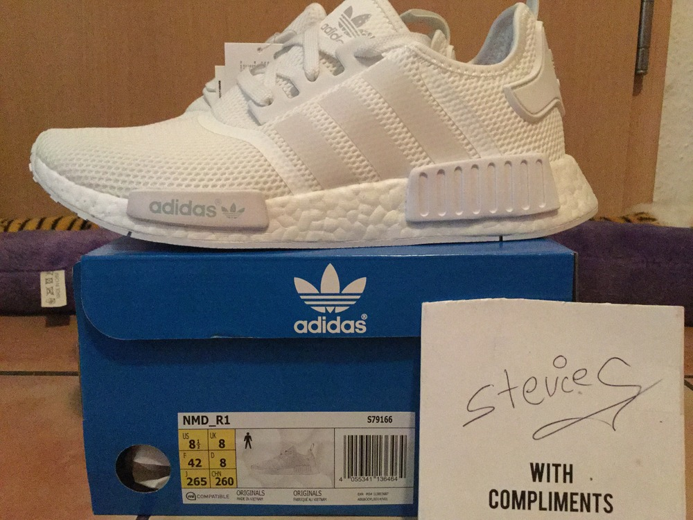 Adidas NMD R1 Runner W Nomad Sun Glow Women's BY3034 7.5