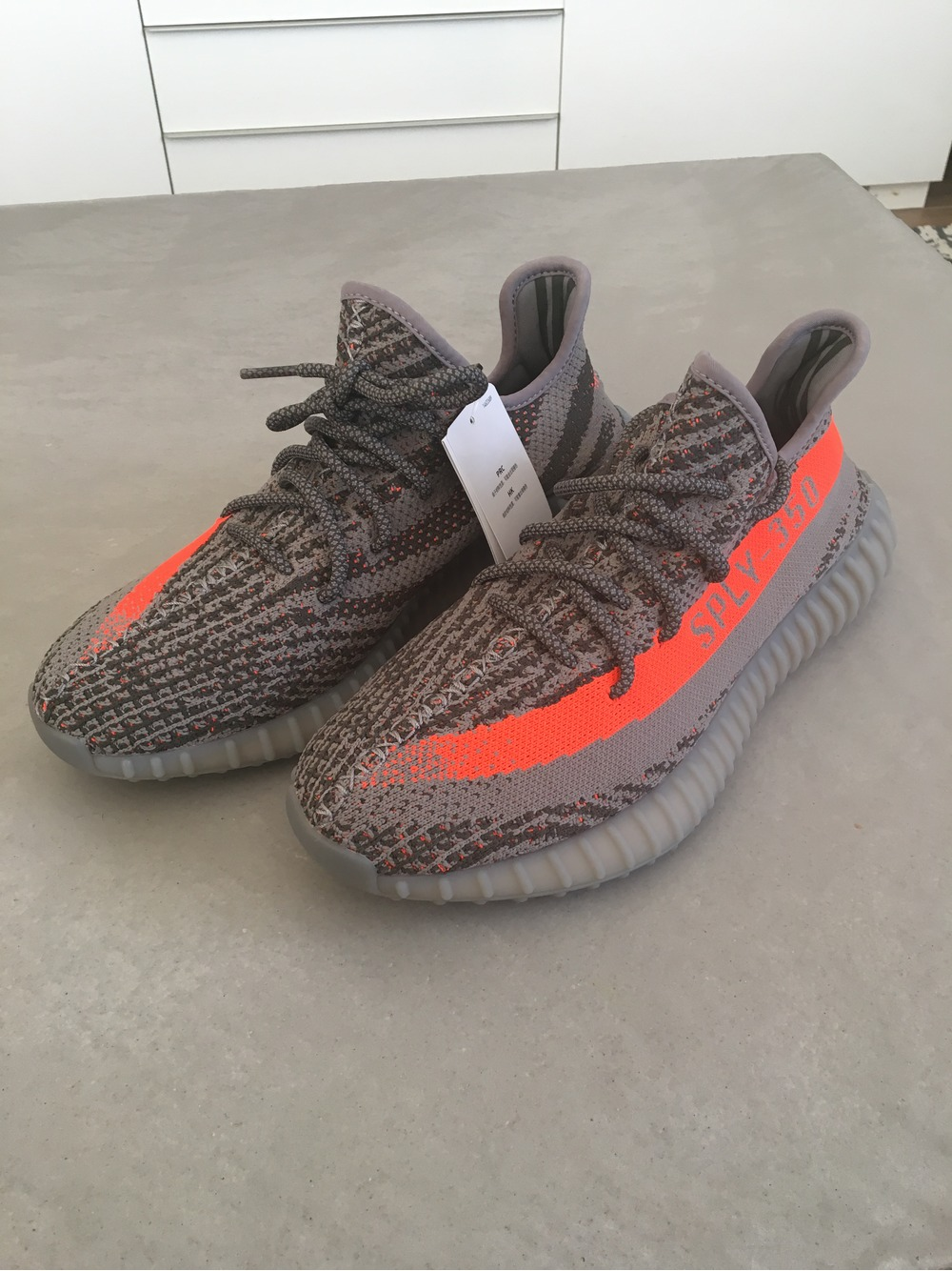 ADIDAS YEEZY BOOST 350 v2 Black / Red BY9612 (# 984384) from