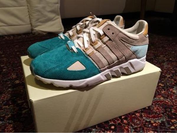 Adidas Adidas Consortium EQT Equipment Guidance 93 x Sneakers76 - photo 1/2