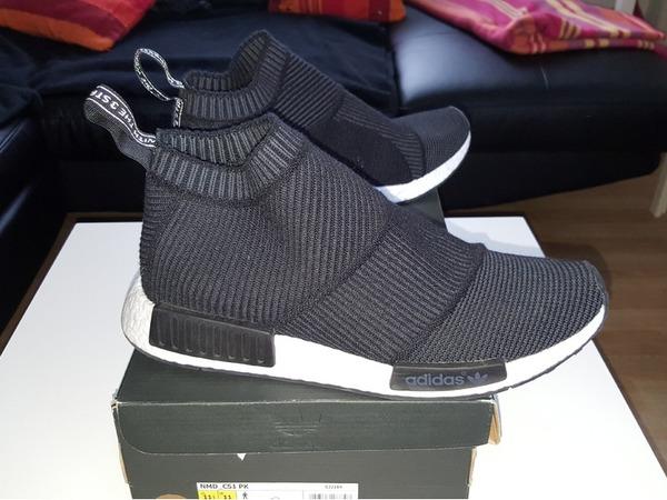 Adidas nmd city sock wool Cs1 winter wool us 11.5 fr 46 uk 11 DEADSTOCK - photo 1/3