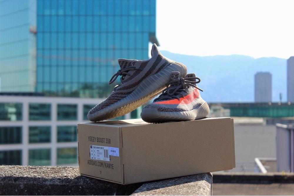 ASMR Sneaker Review Yeezy 350 V 2 Beluga Unboxing