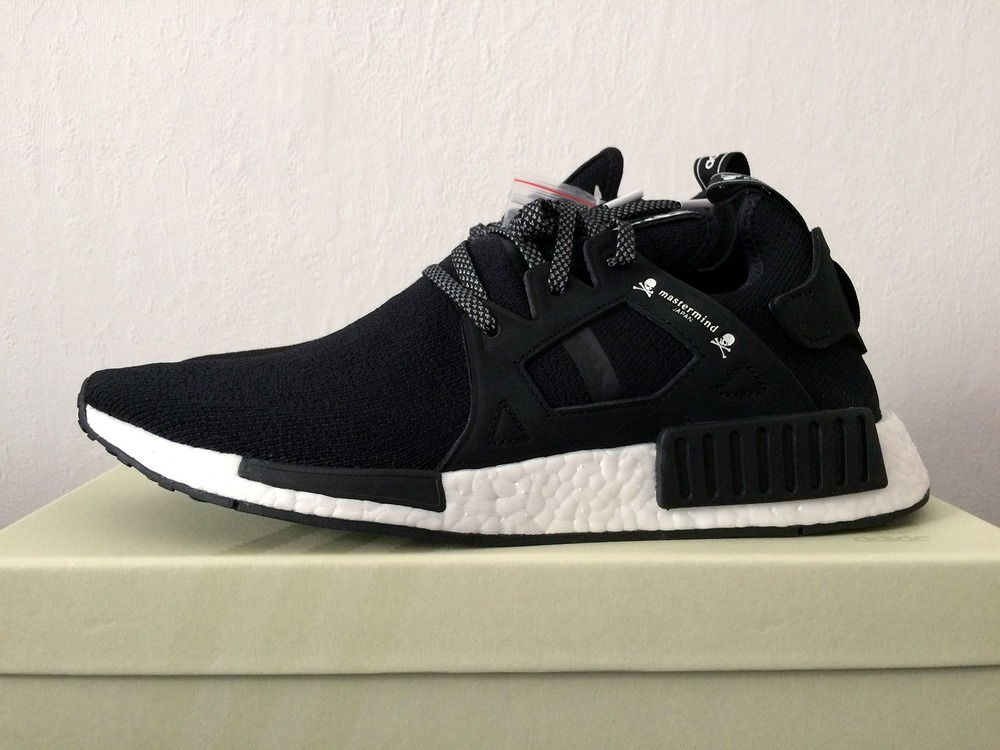 Adidas Originals NMD Primeknit XR1 Black White Red S32216