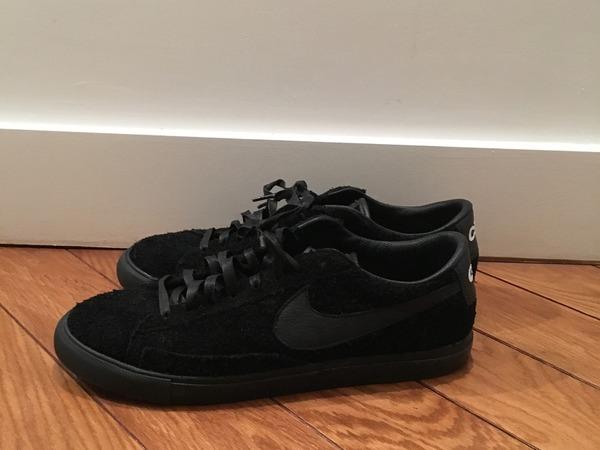 Nike blazer low cdg black - photo 1/4
