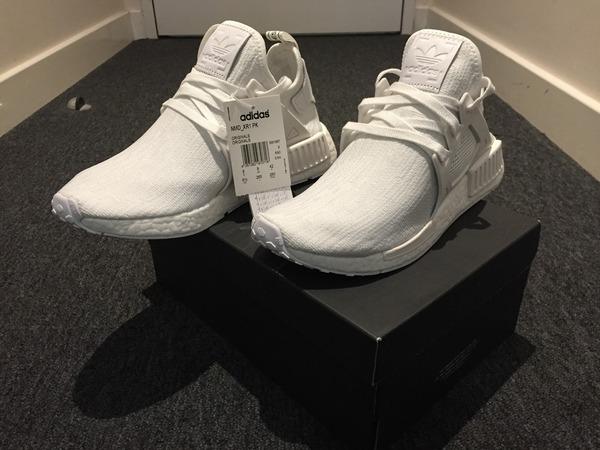 Adidas NMD XR1 PK All White - photo 1/5