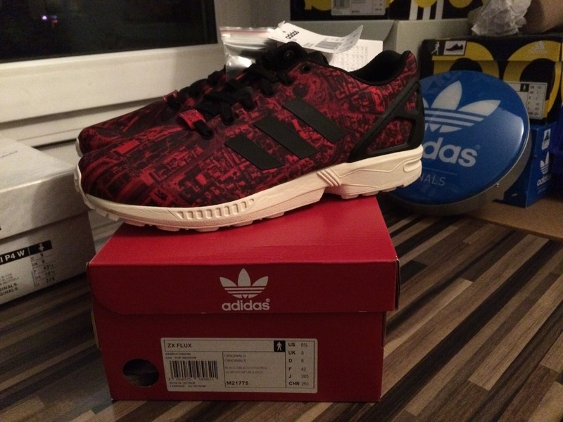 adidas zx flux moscow rose
