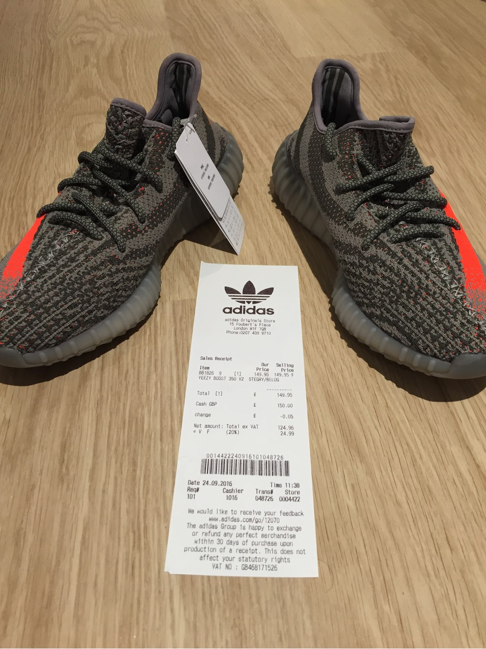 YEEZY Boost 350 v2 Black / Red Raffle (Infants) HBX. HBX
