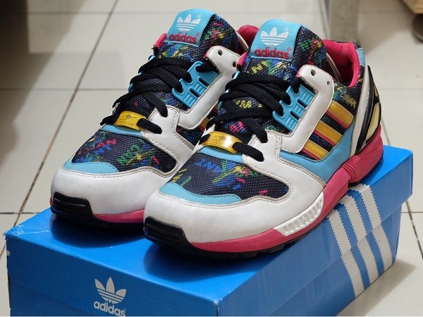 adidas Originals ZX 8000 - I Want I Can - White - photo 1/6