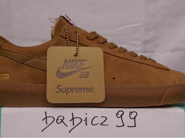 Nike SB Blazer Low GT X Supreme Tan 8,5US/26,5CM/42EUR - photo 1/5