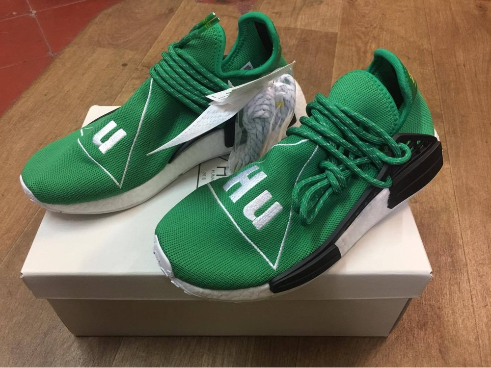 Adidas NMD Human Race Green US 10 DS (#854816) from lukas at