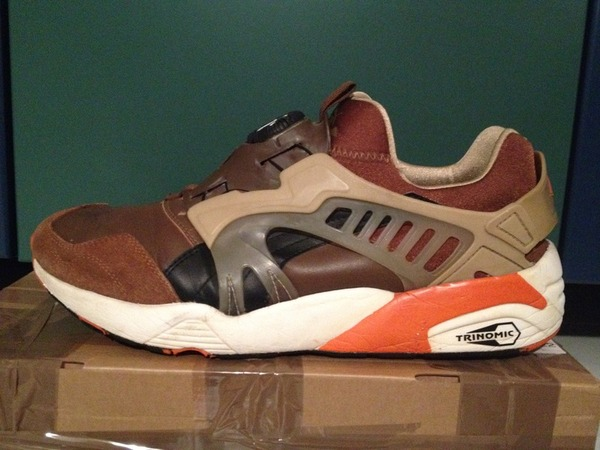 Puma Disc Blaze * Trinomic (Brown) / SAMPLE - photo 1/6