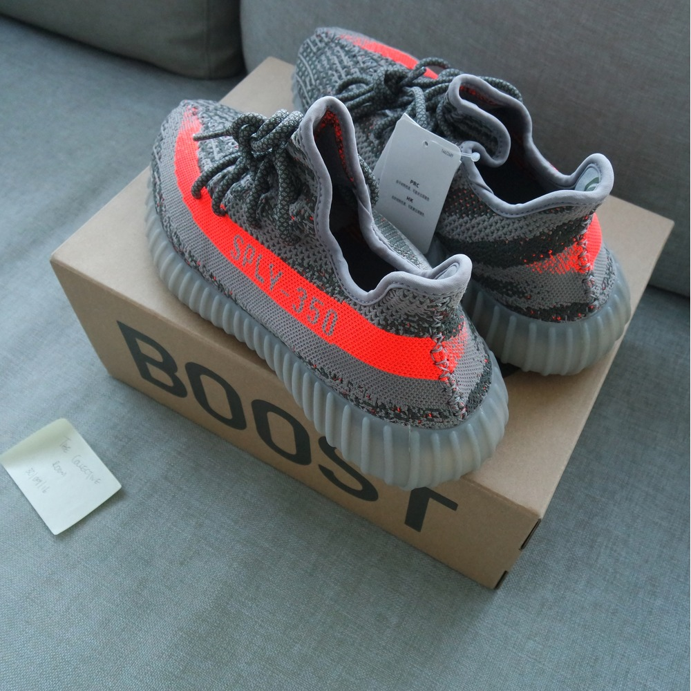 Adidas Yeezy Boost 350 V 2 Beluga Kanye West Solar Red BB 1826