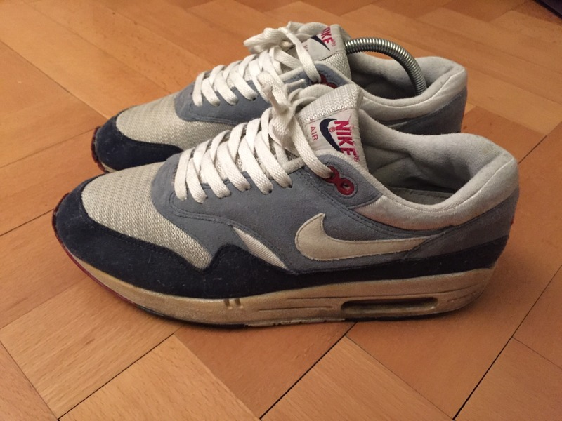 sweetsoles: Nike Air Max 1 'Greystone' (by Maxi