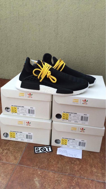 Adidas Pharrell Williams NMD Human Race HU OG Yellow Deals