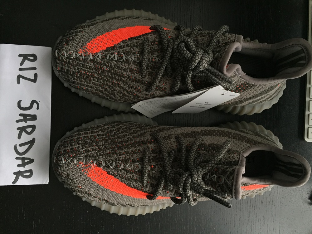 adidas Yeezy Boost 350 v2 'Beluga'' Grey/Orange