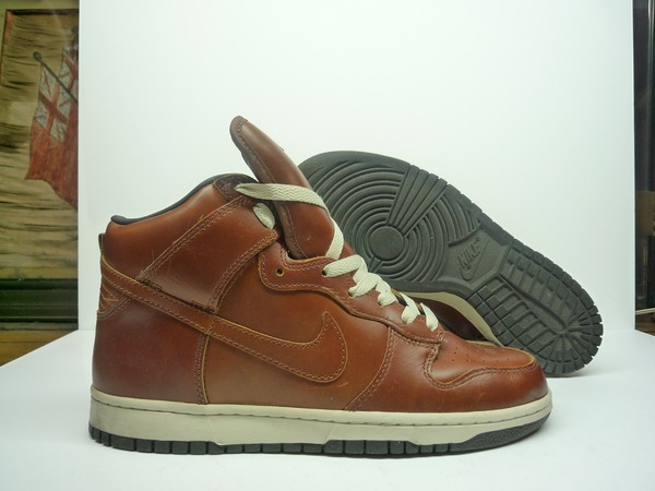 Nike dunk high premium curry leather - photo 1/3
