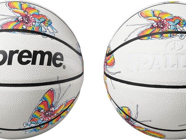 "Supreme x Spalding basketball ""gonz butterfly "" - photo 1/2"