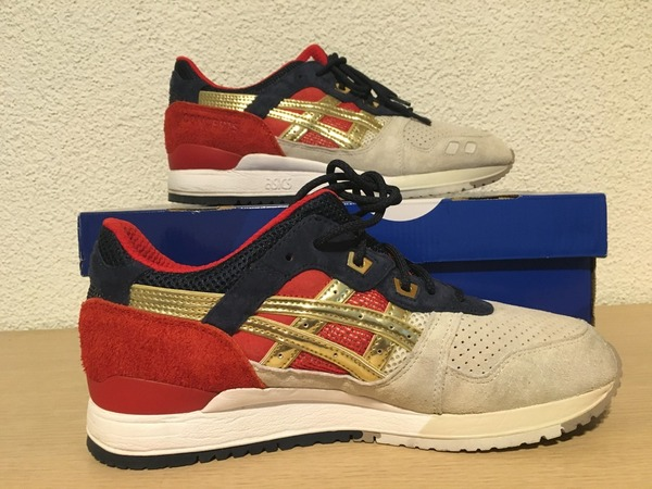 Asics Gel Lyte III x CONCEPTS Boston Tea Party - photo 1/6