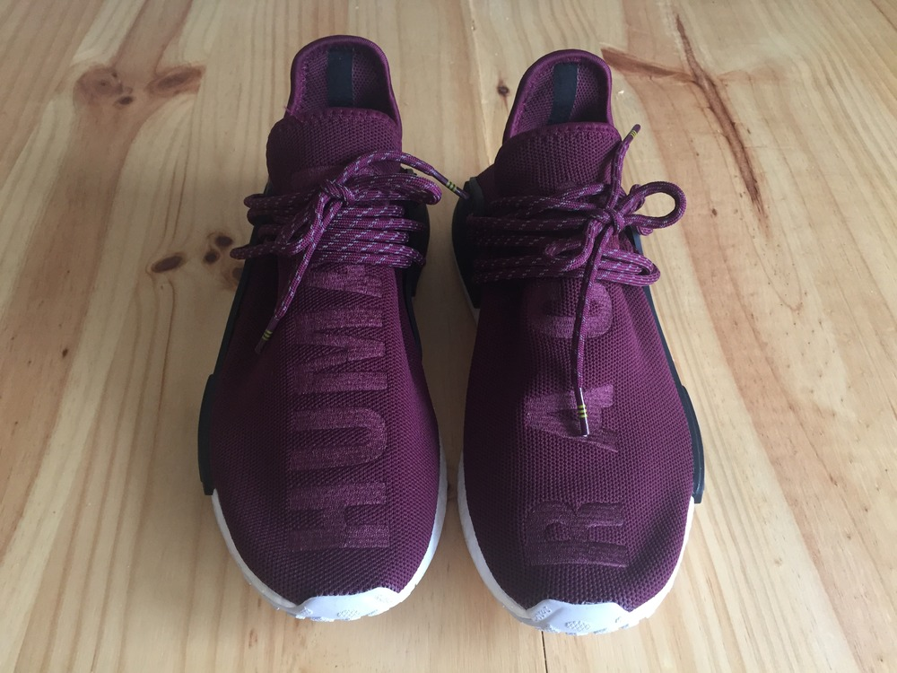 Human Race Red NMDs Sneakerheads Amino
