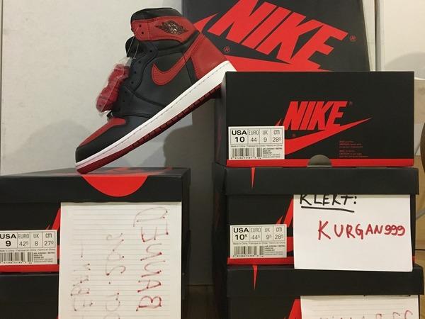 Nike Air Jordan 1 Banned bred, shattered backboard, SBB 1, yeezy, retro, royal, doernbecher,bin, - photo 2/9