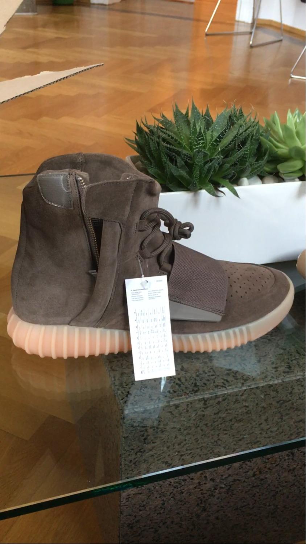 Adidas Yeezy Boost 750 Chocolate - photo 1/8
