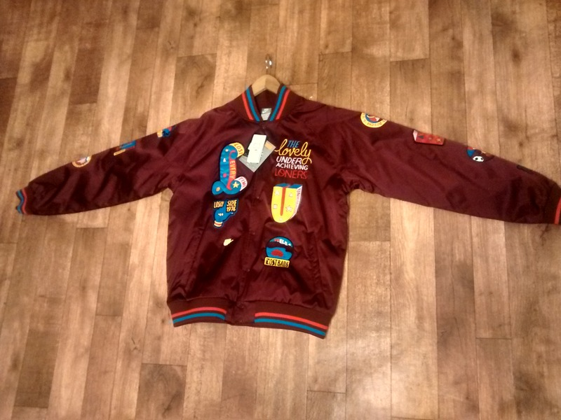 the best attitude 273e0 c5632 ... parra nike bomber  SOLDNike x Parra Varsity Jacket Burgundy Bomber  Atmos Cherrywood Patta (109757) from fnsxx at ...