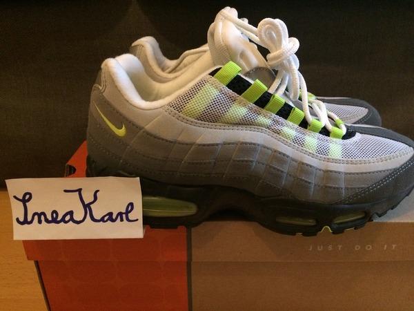 vintage 2001 Nike Air Max 95 Neon og patch atmos viotech escape vtg 1 patta curry urawa - photo 1/9