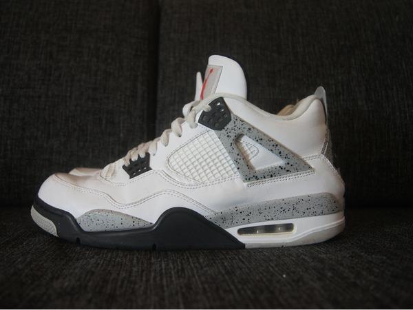 Air Jordan 4 White/Cement - photo 1/4