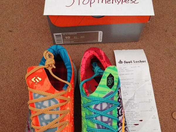 Nike what the kd 6 - photo 1/3