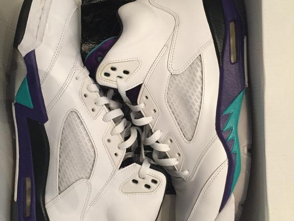 Nike Air Jordan 5 GRAPE - photo 1/1