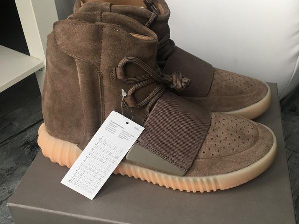 Adidas Yeezy Boost 750 Light Brown Chocolate US 7,5 UK 7 EU 40 2/3 - photo 1/7