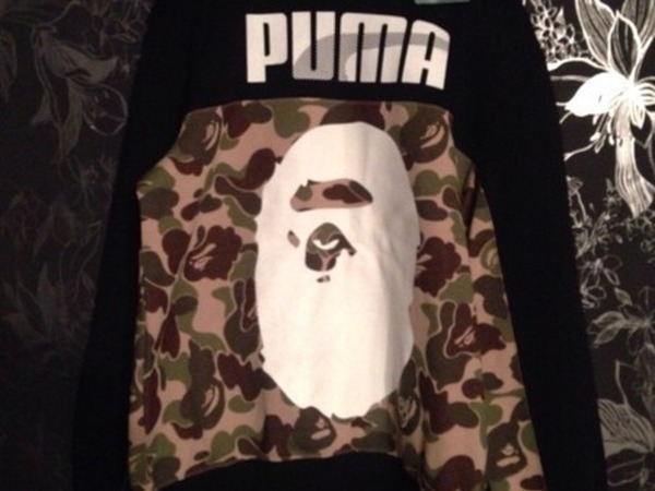 Puma x bape <strong>A</strong> <strong>Bathing</strong> <strong>Ape</strong>(Sample) - photo 1/8