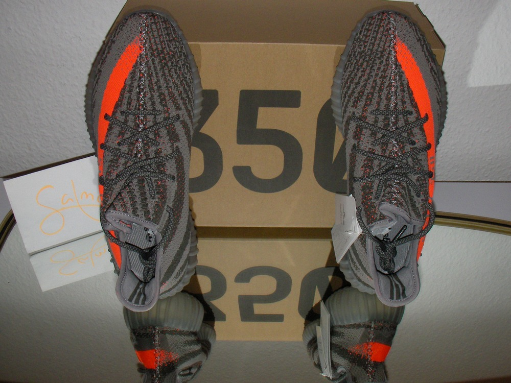 Yeezy 350 V2 Boost Low SPLY Kanye West Core Black Red Men's