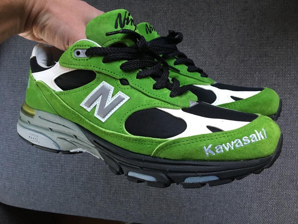kawasaki x new balance 993