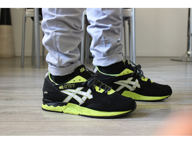 asics gel lyte v gore tex black