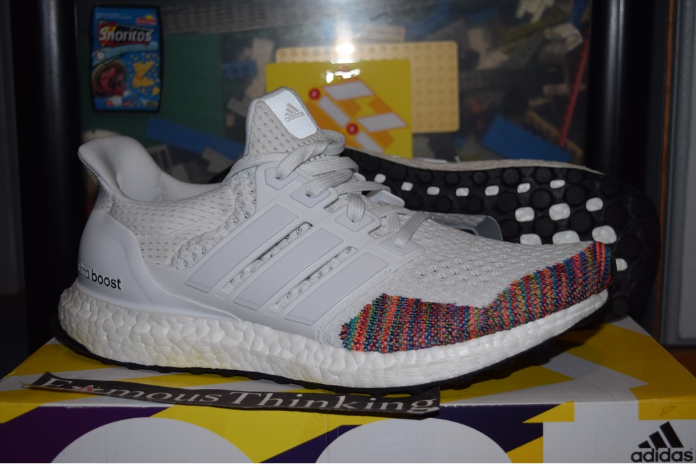 new products 4a7f7 4de57 Adidas Ultra Boost White Rainbow