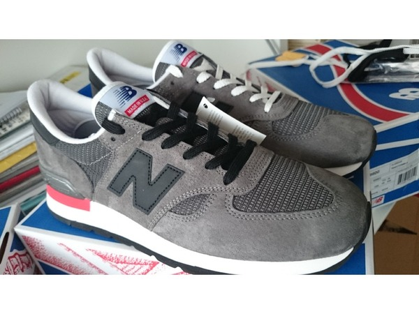 <strong>NEW</strong> <strong>BALANCE</strong> <strong>990</strong> 30° MADE in USA GREY 11,5D 45.5 <strong>NEW</strong> - photo 1/6