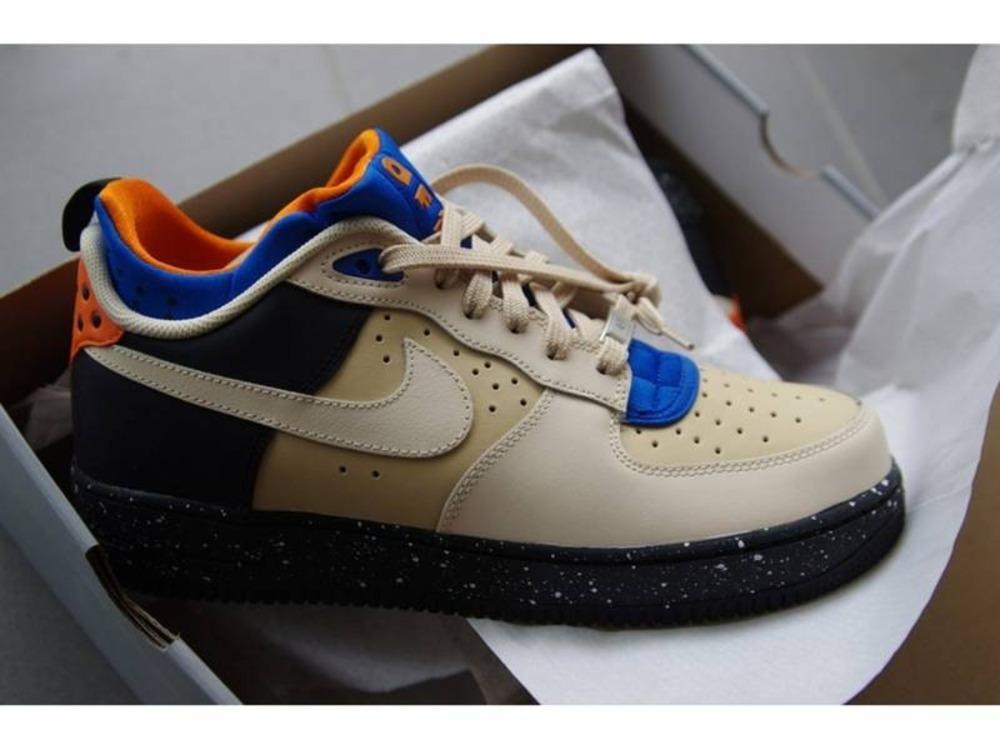 1ff07690452 488298-094 - Designer Nike Air Force 1 Dark Grey Gum Light Brown