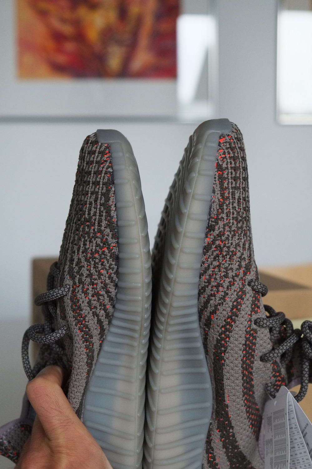 Adidas Yeezy Boost 350 v2 Red BY 9612 (9.5) Shoes