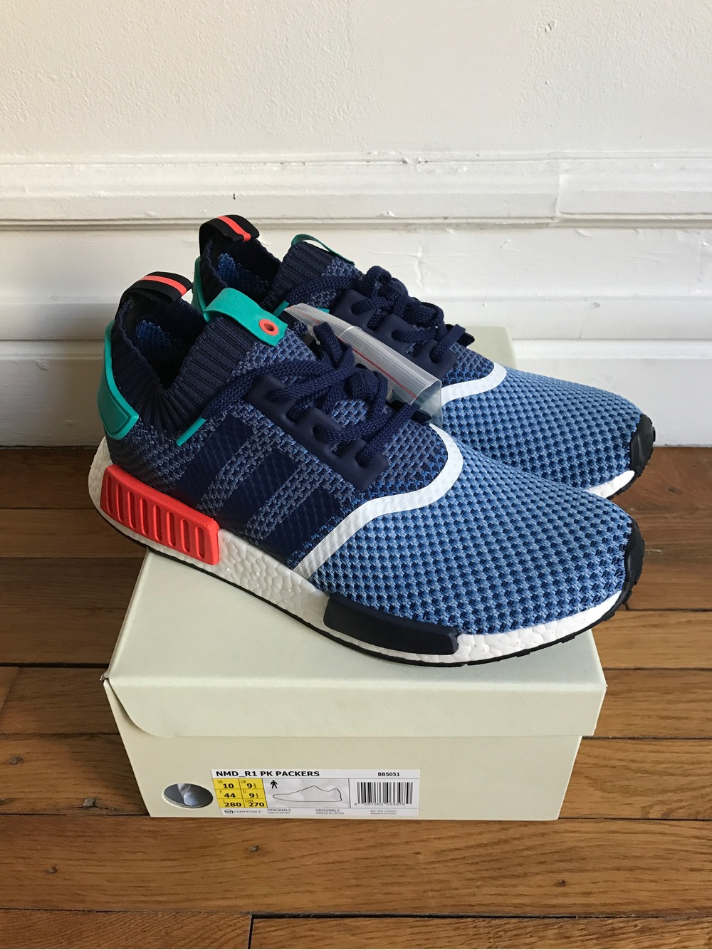 2ff2e3632 Adidas NMD R1 Glitch Grey BB2886