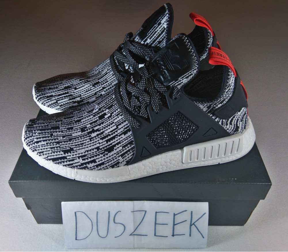 0986d0fece62b ADIDAS NMD R1 PK JAPAN BOOST Black White Primeknit Ultra