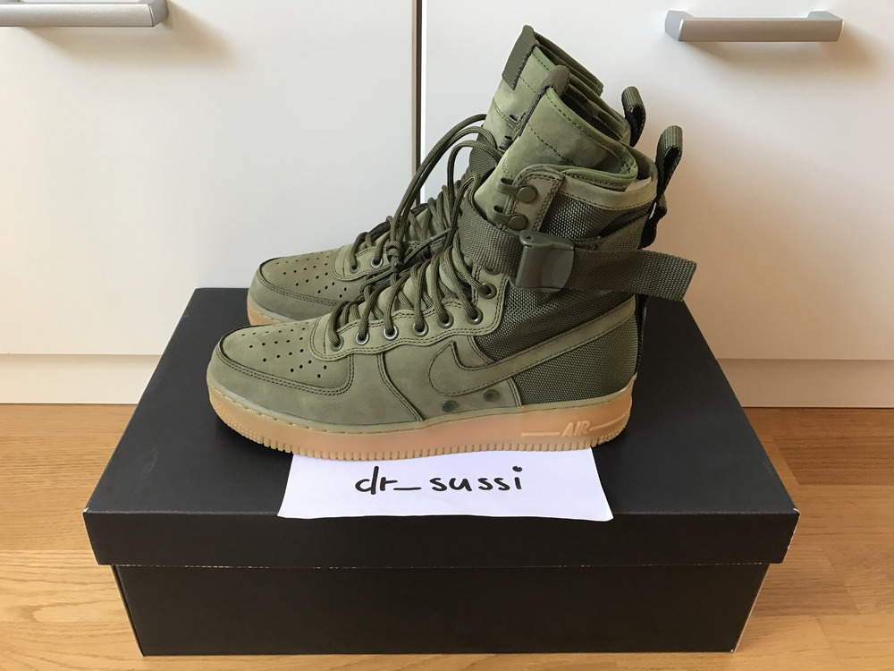 Nike Air Force Olive Af1 Sf