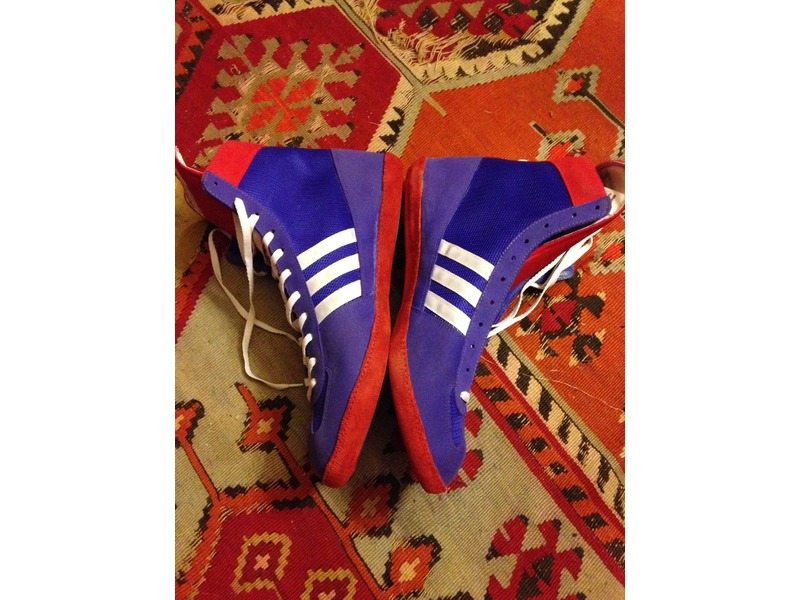 Adidas west german made combat speed wrestling boxing RARE ...