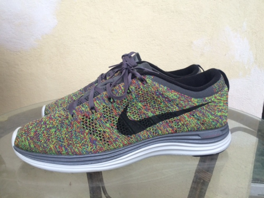 Nike Flyknit Lunar 1+ Multicolor US 11 UK 10 EU 45 photo