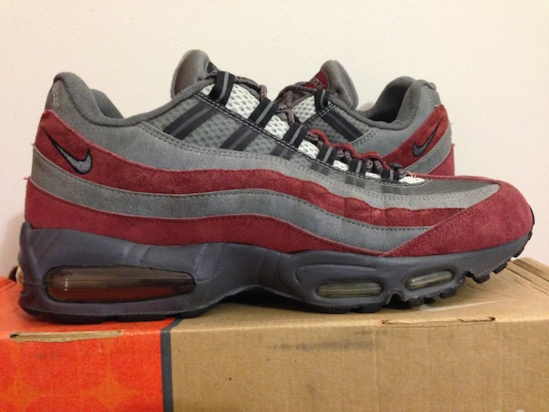 2004 nike air max 95 redwood