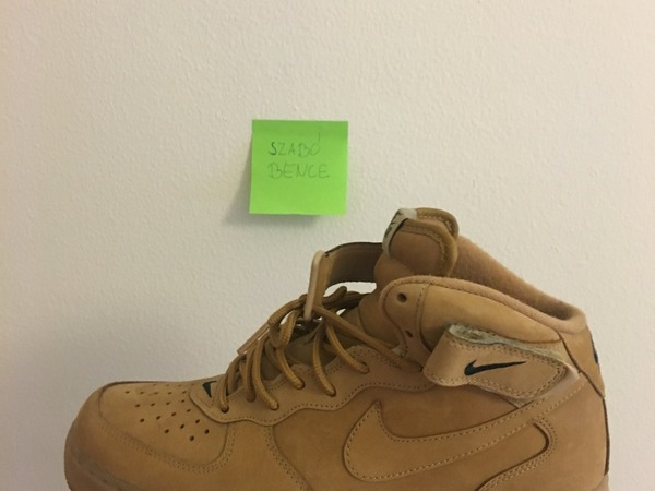 brand new ece9b 8038b ... Nike Air Force 1 Mid Flaxwheat US9 - photo 14
