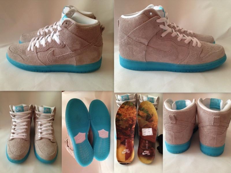 the best attitude e3a2a 27fc2 ... Bao 313171-114 Nike Dunk High Premium SB x Baohaus    ...