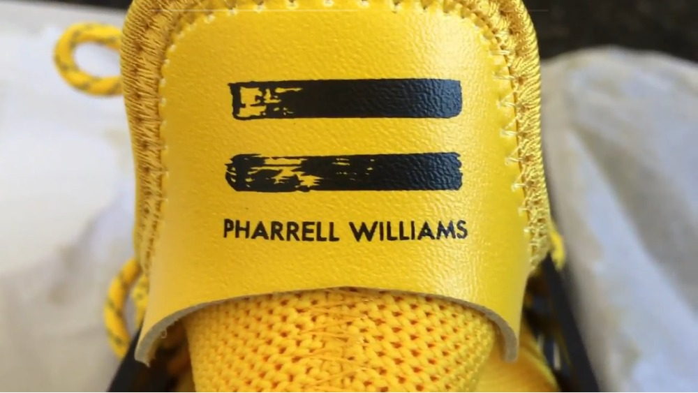 Pharrell Customized His adidas NMD Collaborative Shoe