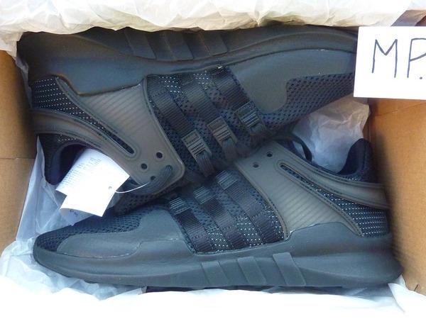 "Adidas EQT Support ADV ""Triple Black"" - photo 1/1"