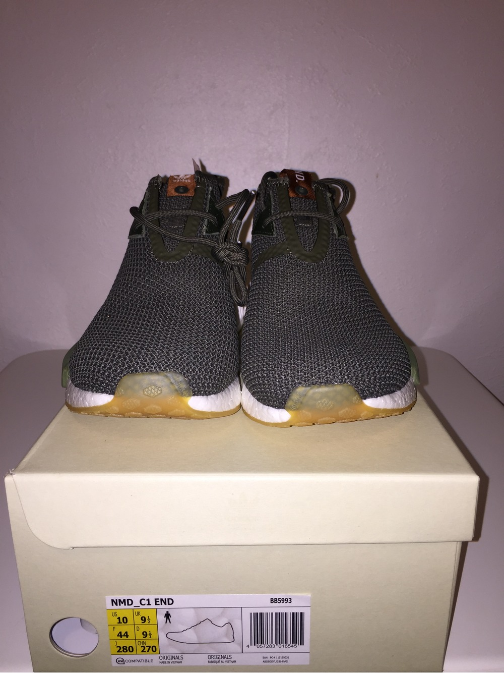 End Clothing x Adidas Consortium NMD C1 Chukka 8 10 Olive