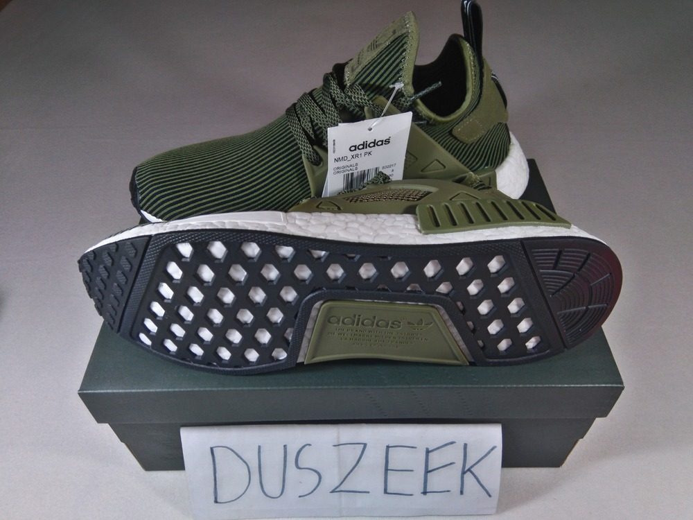Adidas NMD XR1 Duck Camo women's and men's sneakers green